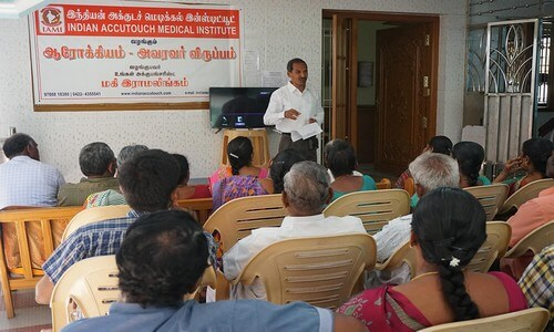 Health Awareness meeting held on 11.06.2018