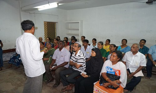 Healthy Living Public meet at Chennai been held by Magi Ramalingam
