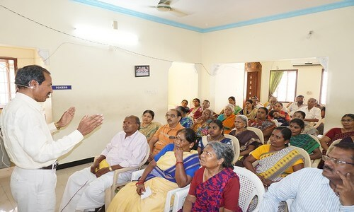 In this meeting Healer Magi Ramalingam spoke about the cause of diabetic and how to overcome it.