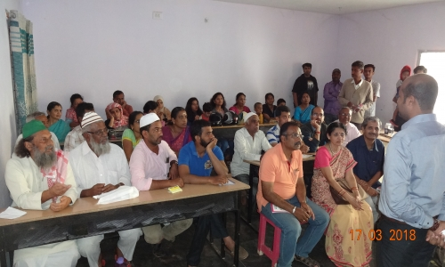 "A Public awareness meeting was conducted in hosur for the benefit of Karnataka and tamilnadu public about health under the banner of ""Healthy Living"""