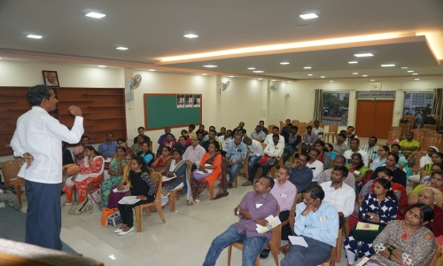 TAO KARNATAKA , Conducted a update and refreshing class at YMCA Bangalore on Saturday - 21, July 2018